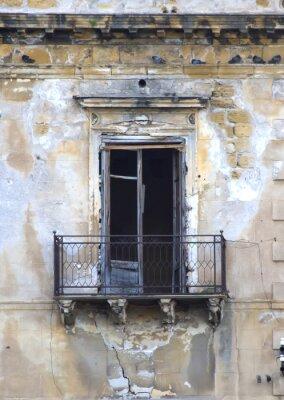 Fototapeta Old siclian window