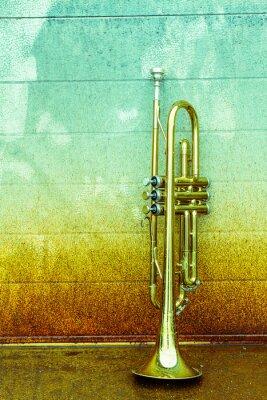 Fototapeta Old Trumpet