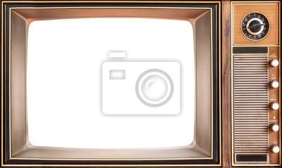 Fototapeta Old TV vintage