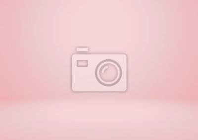 Fototapeta Opróżnia różowego pracownianego izbowego wektorowego tło. Może służyć do wyświetlania lub montażu produktów
