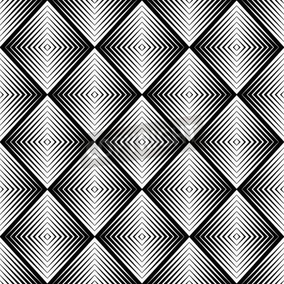 Fototapeta optical blur illusion seamless pattern