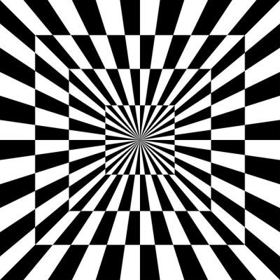 Fototapeta Optical Pattern