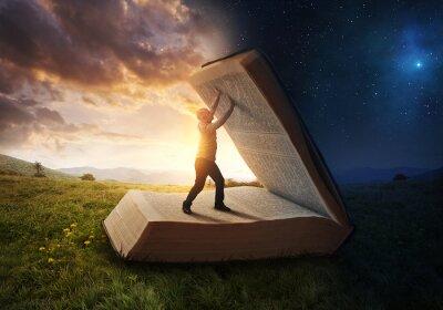 Fototapeta Otwarcie światła Biblii