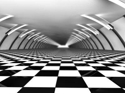 Fototapeta otwarta przestrzeń 3D rendering