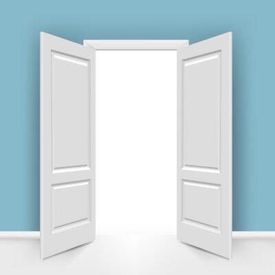 Fototapeta Otwórz drzwi