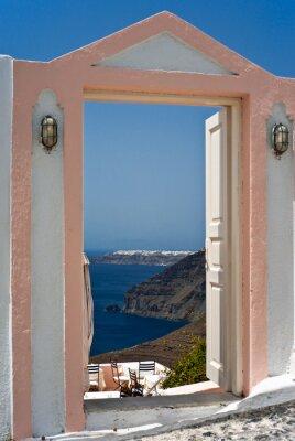 Fototapety otwarte drzwi cienne na wymiar for Drzwi z portalem