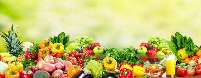 Fototapeta Owoce i warzywa.