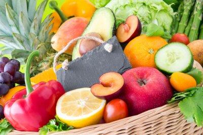 Fototapeta Owoce i warzywa