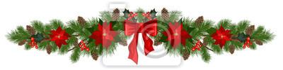 Fototapeta ozdoby świąteczne