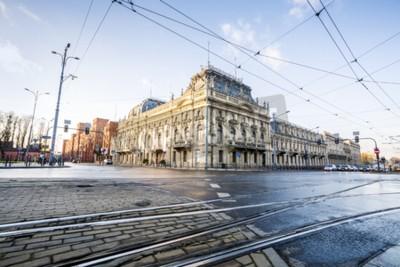 Fototapeta Pałac Poznańskiego przekształcono w muzeum publiczne w mieście Łódź, Polska