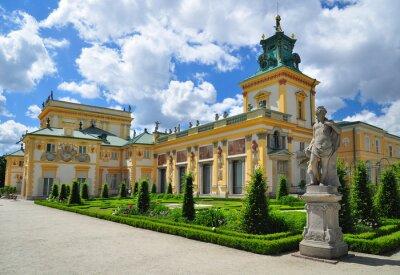 Fototapeta Pałac w Wilanowie w Warszawie historycznej