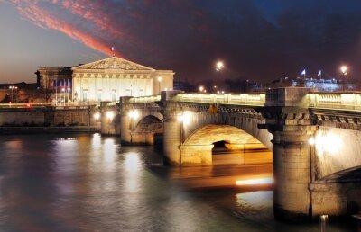 Fototapeta Palais Bourbon - Parlament francuski, Paryż, Zgromadzenie Narodowe