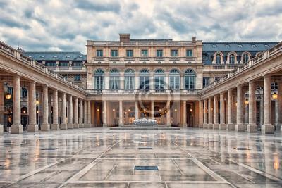 Fototapeta Palais Royal courtyard in Paris, France