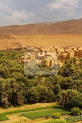 Palmy i Wioska historyczna w Ourzazate, Maroko