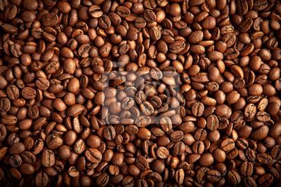 palonych ziaren kawy brązowy