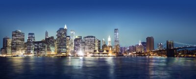 Fototapeta Panaroma z Nowego Jorku