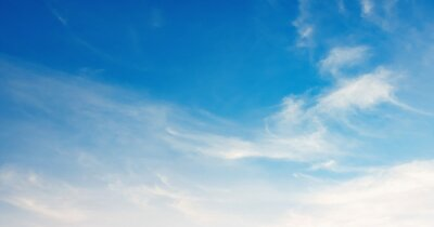 panorama blue sky with white cloud