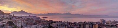 Fototapeta Panorama di Napoli