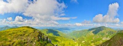 Fototapeta Panorama gór letnich