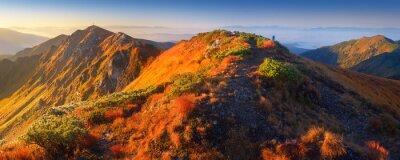 Fototapeta Panorama górskiej scenerii