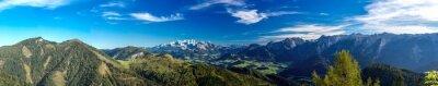 Fototapeta Panorama kierunek Dachstein