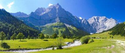 Fototapeta Panorama Landschaft w Bayernie