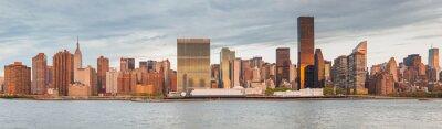 Fototapeta Panorama Manhattanu w Nowym Jorku