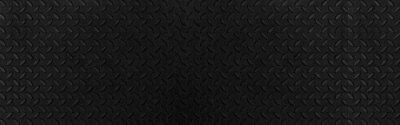 Fototapeta Panorama of Black Diamond Steel Plate Floor pattern and seamless background