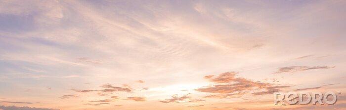 Fototapeta Panorama słońca niebo