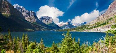 Fototapeta Panorama St. Mary Lake
