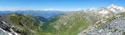 Fototapeta Panorama sur les Alpes