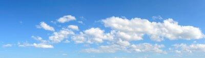 Panorama tle nieba