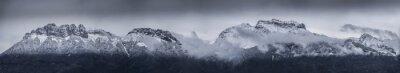 Fototapeta Panoramic Shot Of Rocky Mountain Range