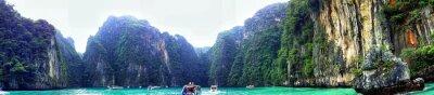 Fototapeta Panoramic View Of Phi Phi Island