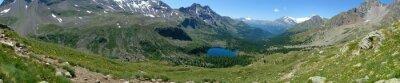 Fototapeta Panoramica della Val Viola - versante Svizzero
