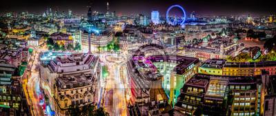 Fototapeta Panoramiczny Londyn Skyline