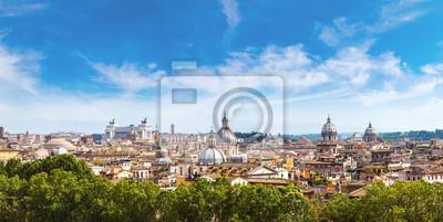 Fototapeta Panoramiczny widok na Rzym