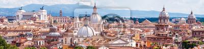 Fototapeta Panoramiczny widok na Rzym, Włochy