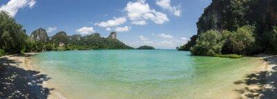 Fototapeta Panoramiczny widok z Railay Beach, Tajlandia