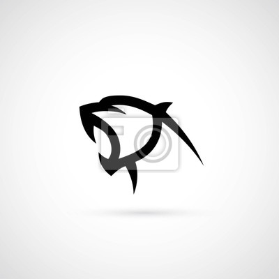 Fototapeta Panther symbolem