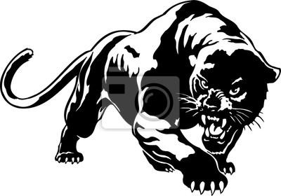 Fototapeta Panther Vector Illustration