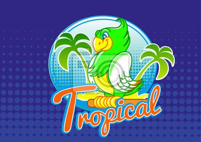 papuga tropikalnych