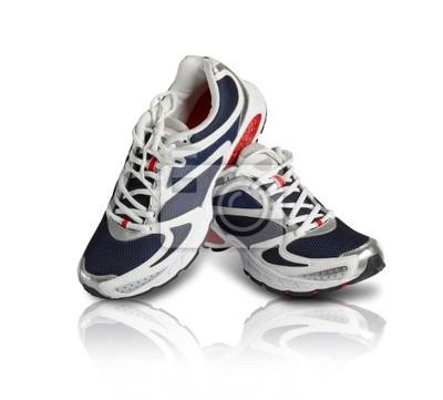Fototapeta Para klasycznych butów sportowych