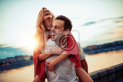 Fototapeta Para zakochanych