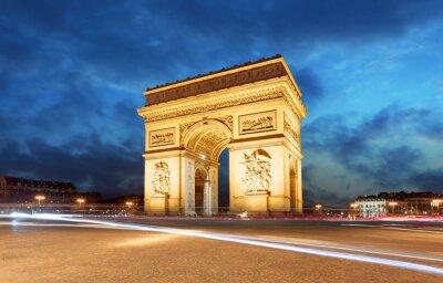 Fototapeta Paris, Arc de Triumph, France