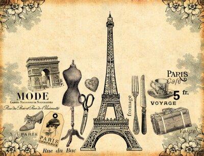 Fototapeta Paris Background