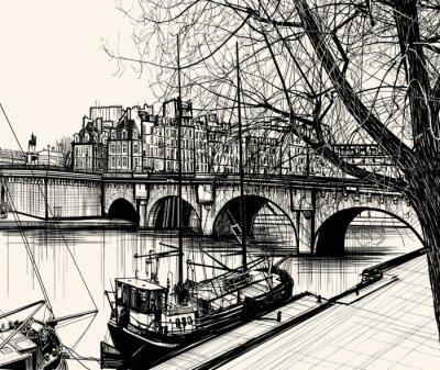 Fototapeta Paris - Ile de la Cité - Pont Neuf