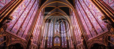 Fototapeta Paris / Sainte Chapelle - Chapelle haute