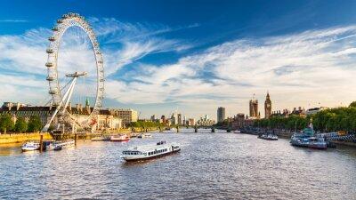Fototapeta Parlament Westminster i Tamizy