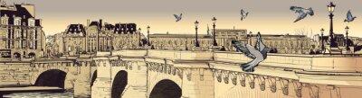 Fototapeta Paryż - Pont Neuf